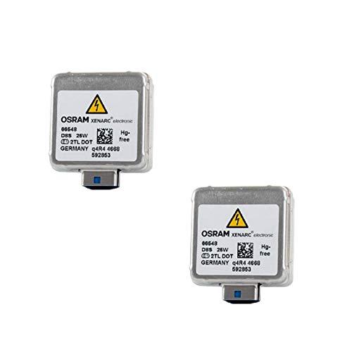OSRAM D8S 25W OEM HID Xenon Ersatz-Scheinwerferlampe 66548 (2 Stück)