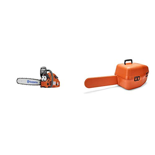 Great Price! Husqvarna 455 Rancher 18 in. 55.5cc Gas Chainsaw with Classic Carry Case