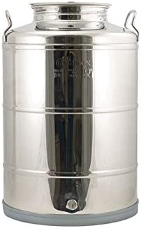 Homebrewers Outpost WE730 Our shop most popular Stainless Fusti - Gallon Eurow Tank 14 Max 42% OFF