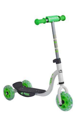 Hudora Kiddyscooter joey 3.0 - scooters (Niños, Asphalt, Negro, Verde, Color blanco)