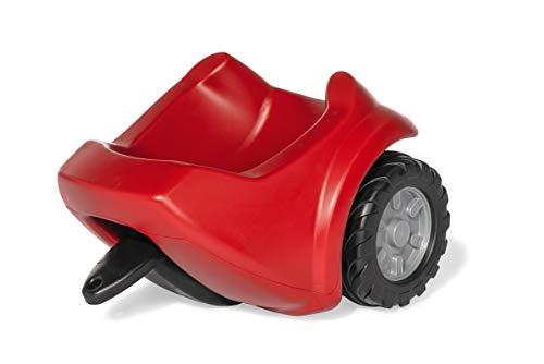 Rolly Toys rollyMinitrac Trailer (Einachs-Anhänger, für Kinder von 1,5-4 Jahre, Kippfunktion, Farbe rot) 122080