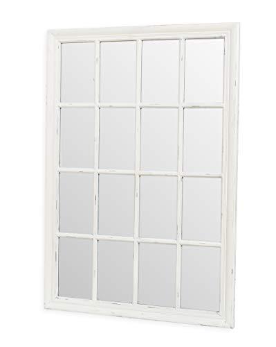 PEÑA VARGAS - Espejos Clásicos - Espejo Ventana Domine Blanco (115x80)