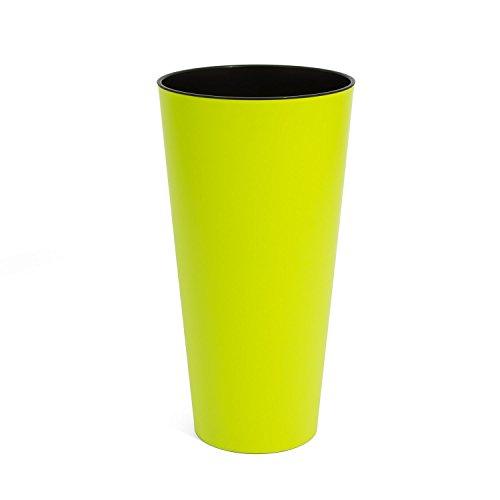 Lime 40 cm diameter Tubus Slim matte serie bloempot