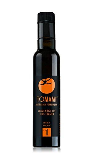 TOMAMI #1 (Umami) - 240 ml | Würze | INTENSIV-FRUCHTIG | umami, vegan, glutenfrei, laktosefrei, sojafrei