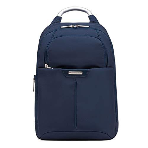 SSG Home Outdoor-Reisen Schulranzen Umhängetasche 13-Zoll-Business-Männer Rucksack Lernen Reisetasche, Schulbedarf 3 Farben Optional Praktische Aufbewahrung (Color : Blue)