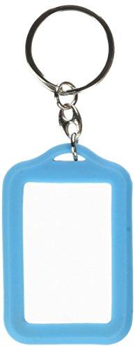 ZEP ap35lb deur sleutel foto ID-kaarten dubbelzijdig kunststof blauw 3,5 x 4,5 cm