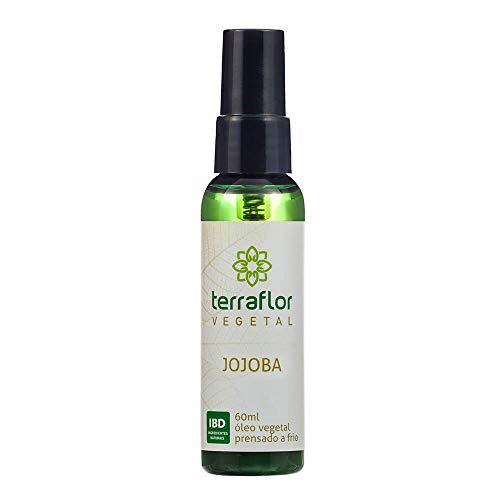 Óleo Vegetal Natural Vegano de Jojoba 60ml Terra Flor Aromaterapia
