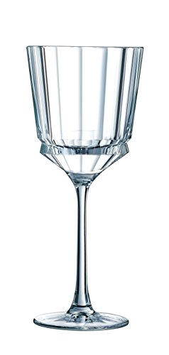 CRISTAL D'ARQUES 7501612 BTE DE 6 VAP 25 CL, Cristallin, Transparent, 27,8 x 18,8 x 22,7 cm
