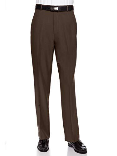 RGM Men's Flat Front Dress Pant Modern Fit