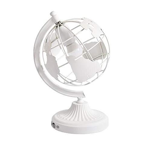 Modern Creative Schreibtischlampe Weiß Metall E27 Tischleuchte Globus-Design Leseleuchte Büro Bankier Schlafzimmer Werkbank Nachttischlampe