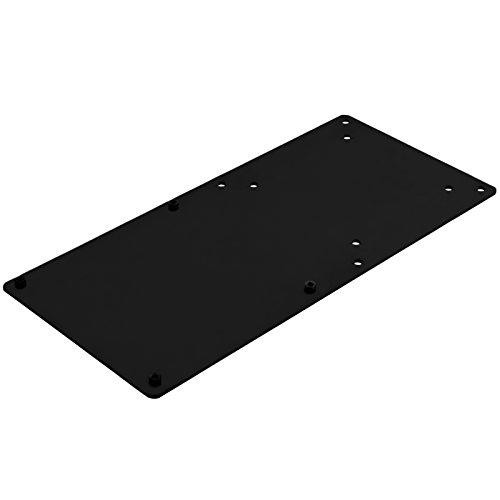SilverStone SST-MVA01 - VESA Halterung NUC Gehäuse, unterstützt Standard VESA Montagespezifikationen, schwarz