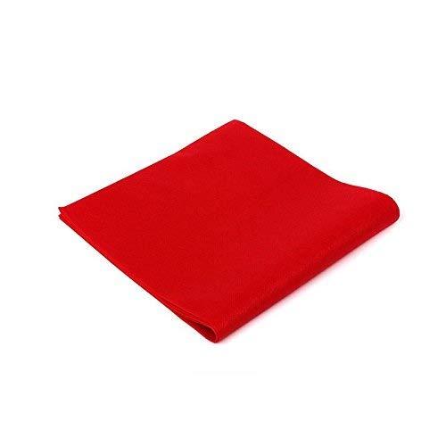 Palucart tovaglie in TNT 100x100 Confezione da 100 tovaglie Colore Rosso Tessuto Non Tessuto Ideali per la ristorazione