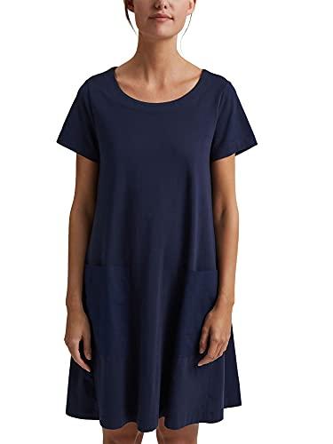Esprit 041ee1e345 Vestido, Azul Marino, M para Mujer