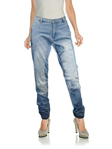 RICK CARDONA Damen Jeans Blue Used 40