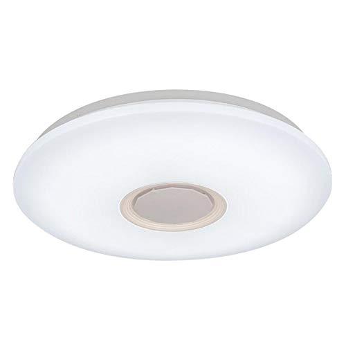 Nobranded 36cm LED Altavoz Bluetooth Música Luz de Techo RGB Montaje Empotrado APLICACIÓN + Control Remoto - 60w