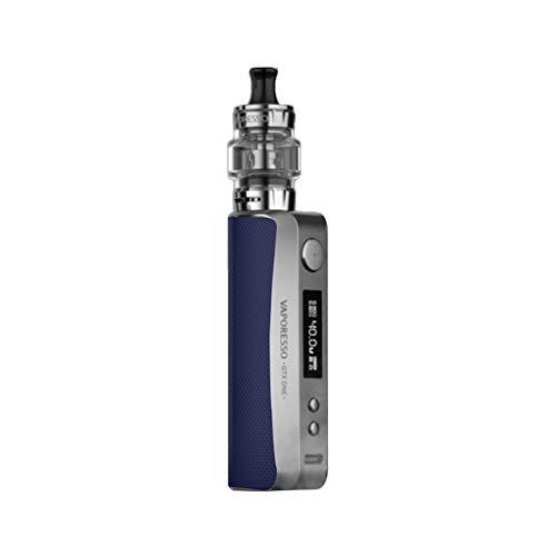 Vaporesso GTX ONE Kit | Vape Kit con 2000mAh GTX One Box Mod 3ml GTX Tank 18 Bobine GTX compatibili (Blu) senza nicotina