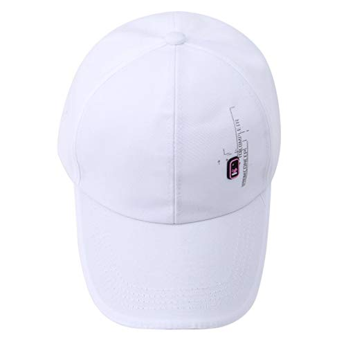 Ogquaton - Gorra de béisbol de calidad superior, lisa, simple, transpirable, plegable, para escalada, pesca, unisex, útil para golf