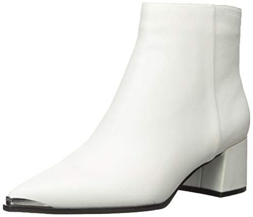 Kenneth Cole New York Women's Roanne Bootie Uniform Dress Shoe, White, 8 Medium US