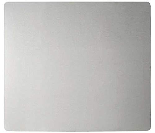 WENKO Wandblende Edelstahl Herdwand Wanddekor Wandschutz Herdwandschutz Wandspritzschutz Küche