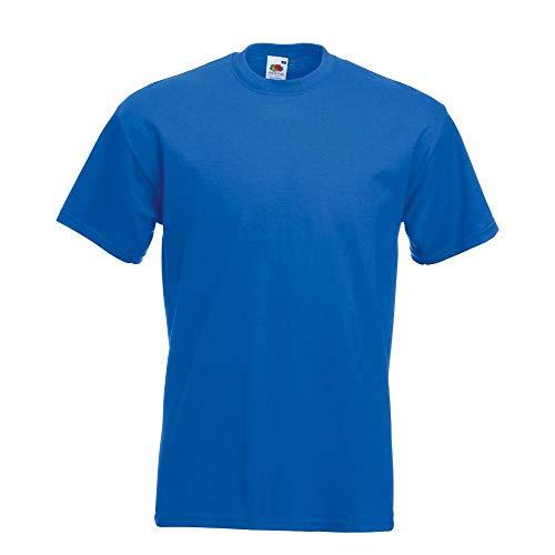 Fruit of the Loom Super Premium T-Shirt royal Blau 2XL XXL,Royal Blau