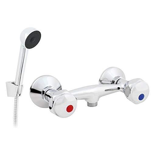 ew-haustechnik - Batería de ducha para montaje en pared