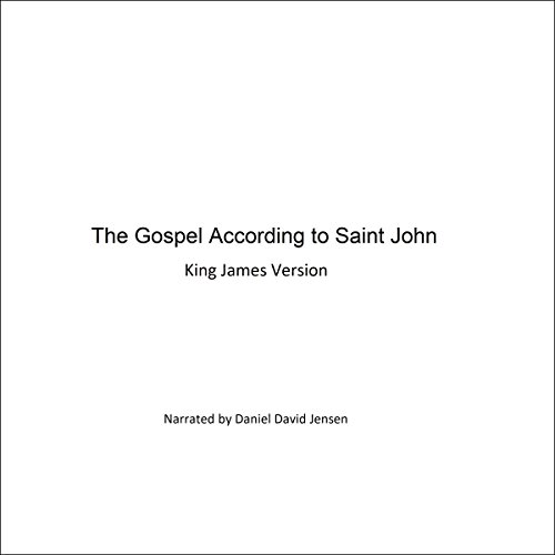 The Gospel According to Saint John audiobook cover art