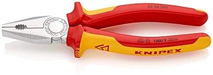 KNIPEX Alicate universal aislado 1000V (200 mm) 03 06 200