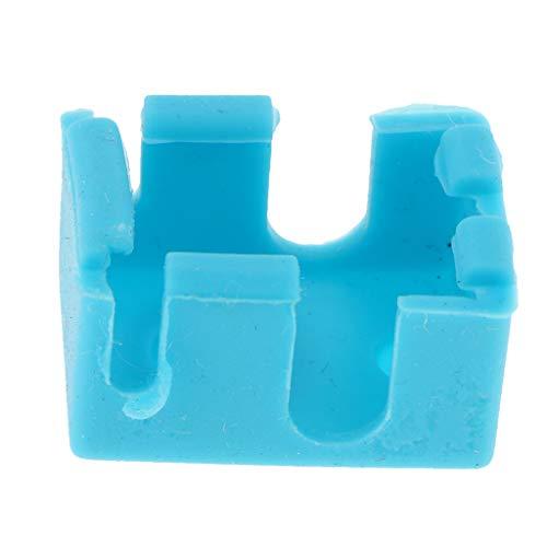 SM SunniMix Caso De Silicón Hotend Pieza De Impresora 3D Bloque Piezas De Equipo Industrial Tamaño Ergonómico - Azul