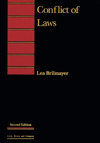 Conflict of Laws (Introduction to Law Series)