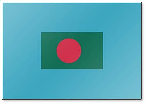 Kühlschrankmagnet Bangladesch Flagge