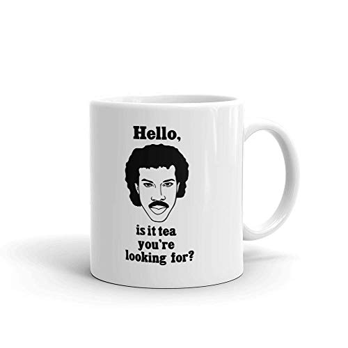 Hello, is it Tea Your Looking for Funny Coffee Tea Ceramic Mug Office Work Cup Gift