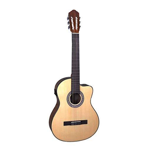 Santana B8 EQCW NA v2 - Guitarra clásica, color natural