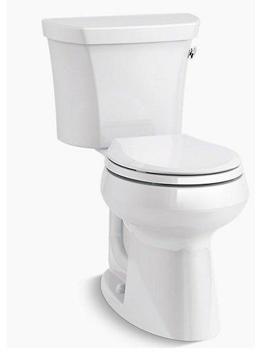 Kohler K-5481-RA-0 Highline Comfort Height Toilet, White