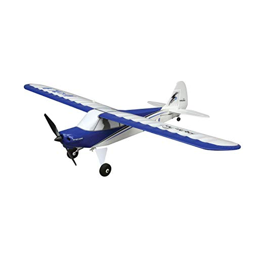 HobbyZone Sport Cub S RC Airplane BNF (Transmitter Not Included) with SAFE Technology | 150mAh 3.7V LiPo Battery | USB Charger, HBZ4480,Blue