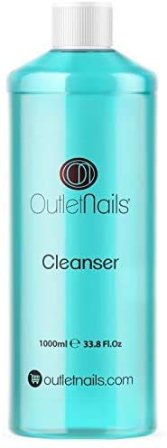Cleaner 1000ml Blue - Parfum Coco/Nettoyant pour les ongles en gel/Nail Cleaner/Dégraissant spécial pour vernis gel
