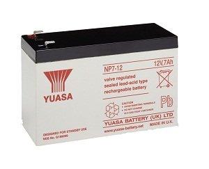 10 x Yuasa NP7-12 baterias para bici electrica, SAI, luces de emergencia...
