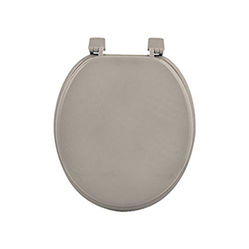 Douceur d'Intérieur 6STO085TA Siege de Toilette MDF Taupe 47 x 37 x 5 cm