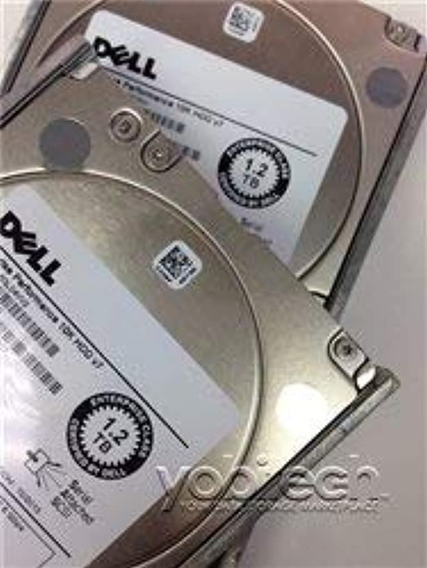 マニアック小売文芸6DHKK Dell - 1.2TB 10K SAS 6GB/s 2.5インチ HD (認定整備済み)