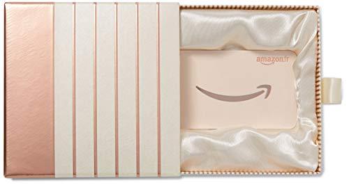 Carte cadeau Amazon.fr - Coffret Cadeau Rose doré