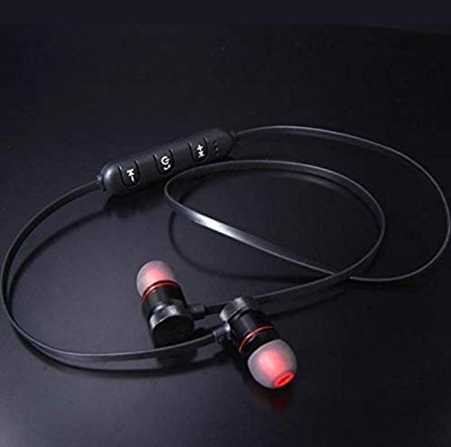 ASMIU Bluetooth Headphone with Noise Isolation and Hands-Free Mic and Buttons with Magnetic Earbuds Secure Fit for Gym, Running and Outdoor 1