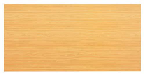 Unbekannt Konferenztisch - Platte (ohne Füße) KONTOR 160 x 80cm Buche