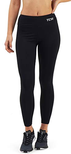 TCA Pro Performance Damen Laufhose/Leggings - Schwarz, S