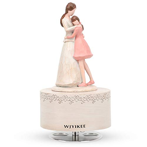 WJYIKEE Music Box Sculpted Hand-Painted Musical Figure Warm and...