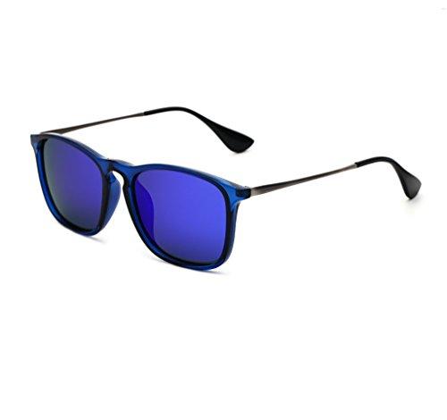 Zonnebril Koreaanse Polaroid Zonnebril Mannen En Vrouwen Tide Rijden Zonnebril Retro Mode Drivers Vierkant Rijden Zonnebril Oogkleding