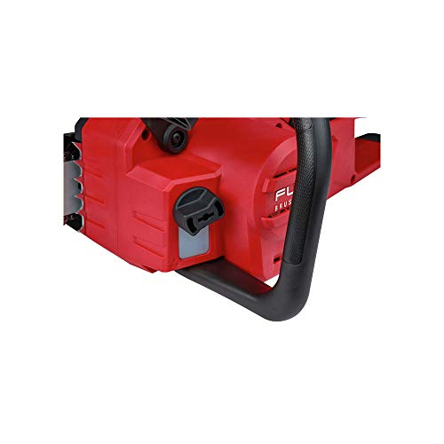 Milwaukee 2727-20 M18 Fuel 18 Volt Lithium-Ion Battery 16 Inch Cordless Brushless Chainsaw with 12.0 Ah Battery and M18 Rapid Charger Kit (Non-Retail Packaging)