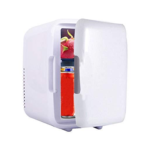 Nicknocks Refrigerador miniatura, refrigerador personal y calentador, hielera eléctrica, calentador portátil, sistema termoeléctrico...