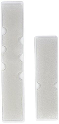 XLC Unisex– Erwachsene Lenkerband Gelpads GR-T05, Transparent, One Size