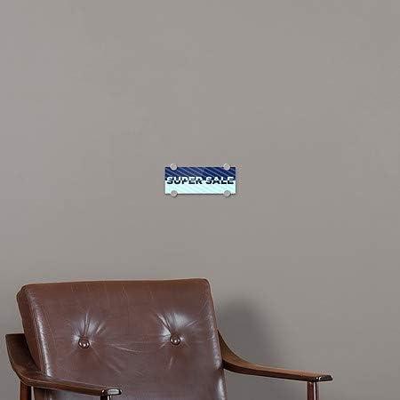 Stripes Blue Premium Acrylic Sign 5-Pack CGSignLab 8x3 Super Sale
