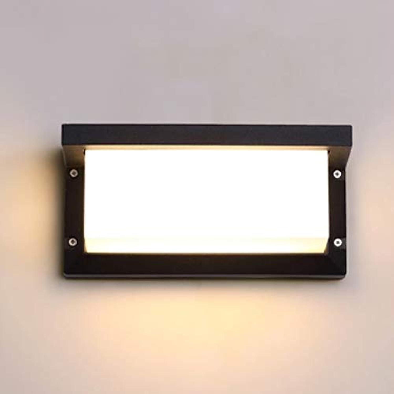 Zkciss Aluminium-Wandleuchte-Quadrat-Wandleuchte Kreative moderne einfache Nordeuropa-Gang-Wandlampen-Klammer-Licht-japanisch-artiges Wohnzimmer-Balkon-Schlafzimmer-Nachtglas-Mattglas-Wand-Laterne