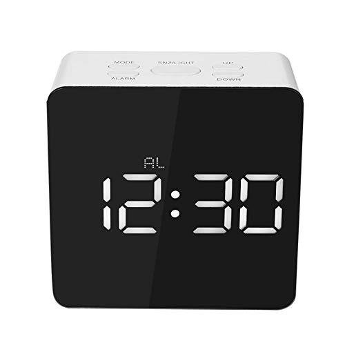 Alarmclocker8B Multifunktionale Digital LED Wecker Digitaluhren Büro Außenalarm Islamisches Gebet Bad Temperatur 24 Italien